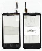Сенсор Lenovo A820 чорний