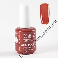 Гель-лак YRE GL-01 №02 коричневый