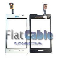 Сенсор LG E440 Optimus L4 II белый