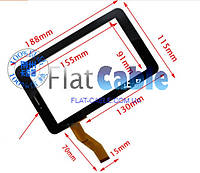 Тачскрин (сенсор) №091 для планшета Ainol 3G AX1 чёрный 04-0700-0808 188x115
