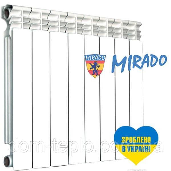 Радиатор биметаллический Mirado 500/96 секционный