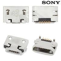 Коннектор зарядки для Sony Xperia E1 D2004 / D2005, оригинал