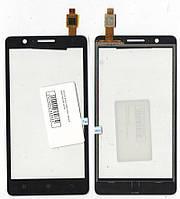 Сенсор Lenovo A536 black чёрный качественная копия