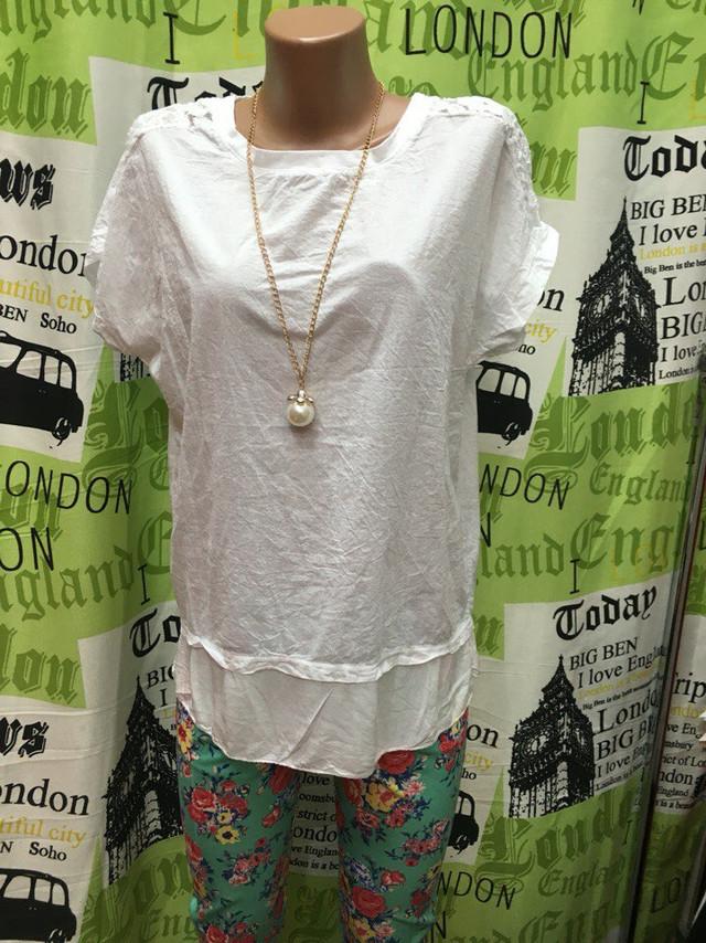 Женская хлопковая блузка
