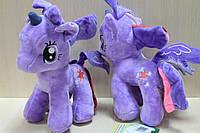 Лошадка Пони фиолетовая, мягкая игрушка производитель Копыця, Украина