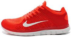 Мужские кроссовки Nike Free 4.0 Flyknit Red
