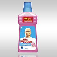 Средство для мытья пола Mr. Proper Роза 500 мл.