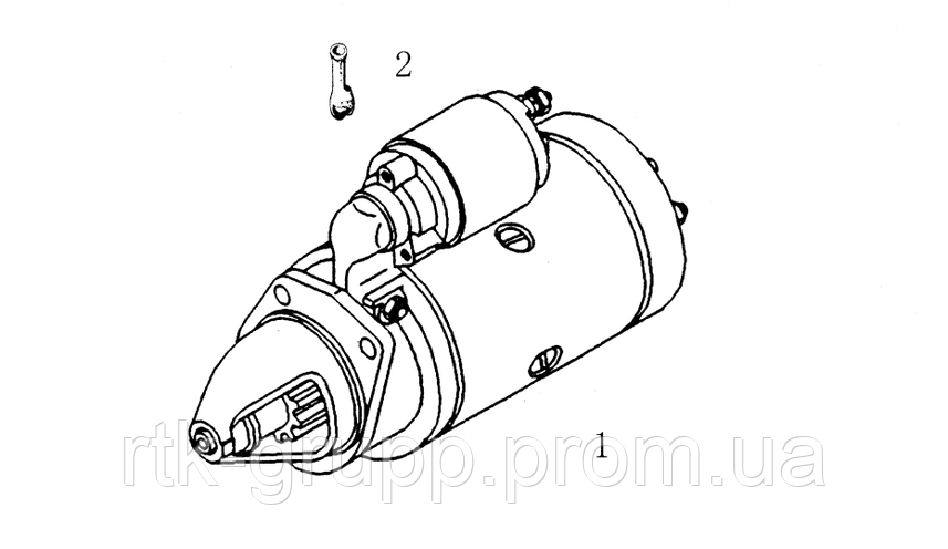Каталог Стартера двигателя  TD226B