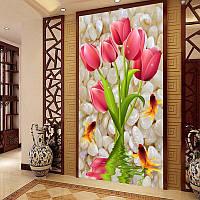 Алмазная мозаика -Тюльпаны  3 Д