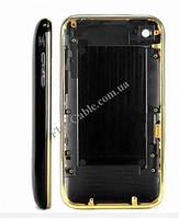 Задняя крышка iPhone 3GS 32Gb в полном сборе, чёрная (качественная копия)