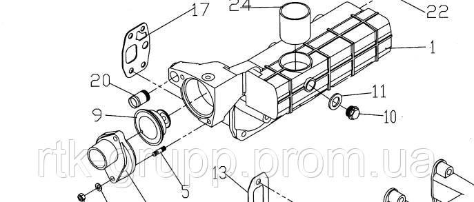 Термостат двигателя  TD226B