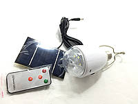 Светодиодная лампа с аккумулятором + солнечная батарея GD-lite GD-5005