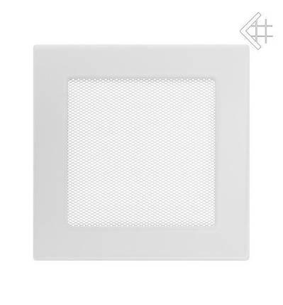 Вентиляционная решетка для камина KRATKI 17х17 см белая, фото 2