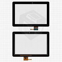 Touchscreen (сенсорный экран) для Huawei MediaPad 10 Link 3G (S10-201u), черный, оригинал