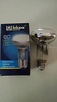 Лампа накаливания R63, 60Вт, E27, прозрачная Искра