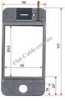 Сенсор iPhone №116 56x113 4G, J9, X7+, J20