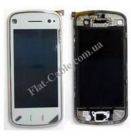 Сенсор Nokia N97 белый