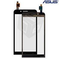Сенсорный экран (touchscreen) для Asus ZenFone Go (ZC500TG), оригинальный (черный)