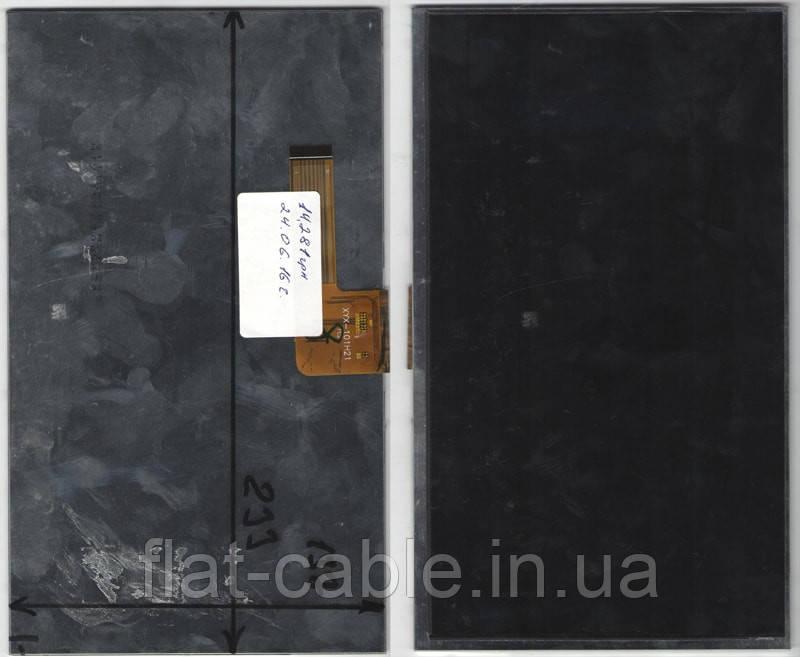 Дисплей для планшета №044  Bravis NB105  XYX-101H21 137x233mm 30pin (не совместим с №044.1)