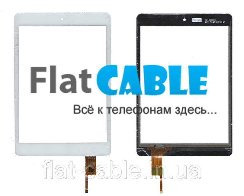Тачскрин (сенсор) №174 Modecom FreeTab 7800 IPS 078043-01A-V1 197x133mm 6 pin White