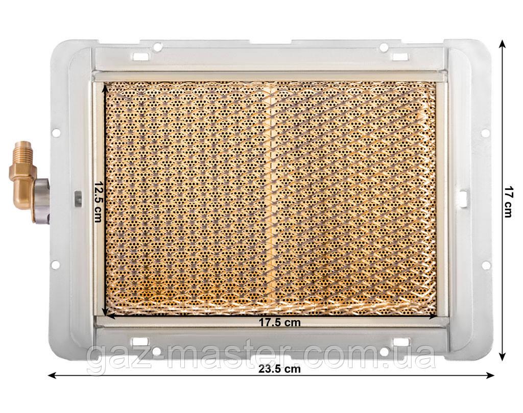 Керамическая газовая горелка инфракрасного излучения