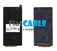 Дисплей + сенсор Sony D6502 Xperia Z2, D6503 Xperia Z2, черный, с тачскрином