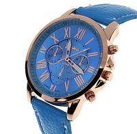 Часы наручные голубые арт. 055