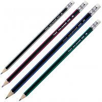 Карандаш графитный с резинкой, HB 9002/100-A(9609101000)