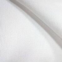 Канва (крупная) - цвет белый, 4 клетки на 1 см