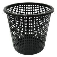 Корзина-сетка для бумаг, черная, 437001