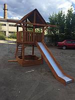 Игровая площадка для детей, детский игровой комплекс с горкой п8