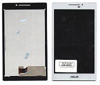Дисплей для планшета Asus ZenPad 7.0  Z370C с белым тачсрином