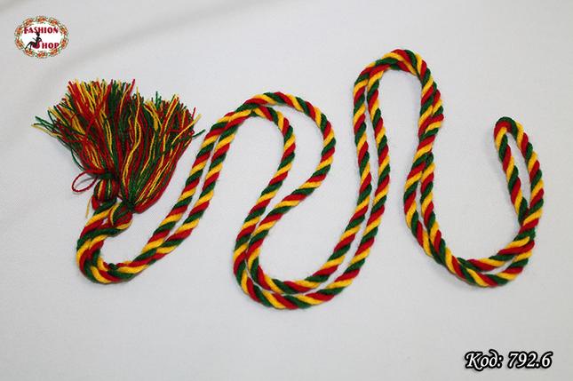 Цветной узкий пояс Радуга, фото 2