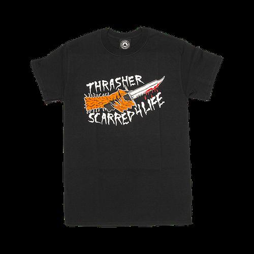 Футболка Thrasher Scarred T-shirt Black