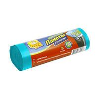 Пакет для мусора суперпрочный LD (70*110/120л - 10шт,синий)