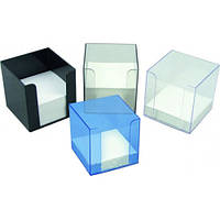 Пенал для бумаги, дымчатый, (90х90х90),D4005-28