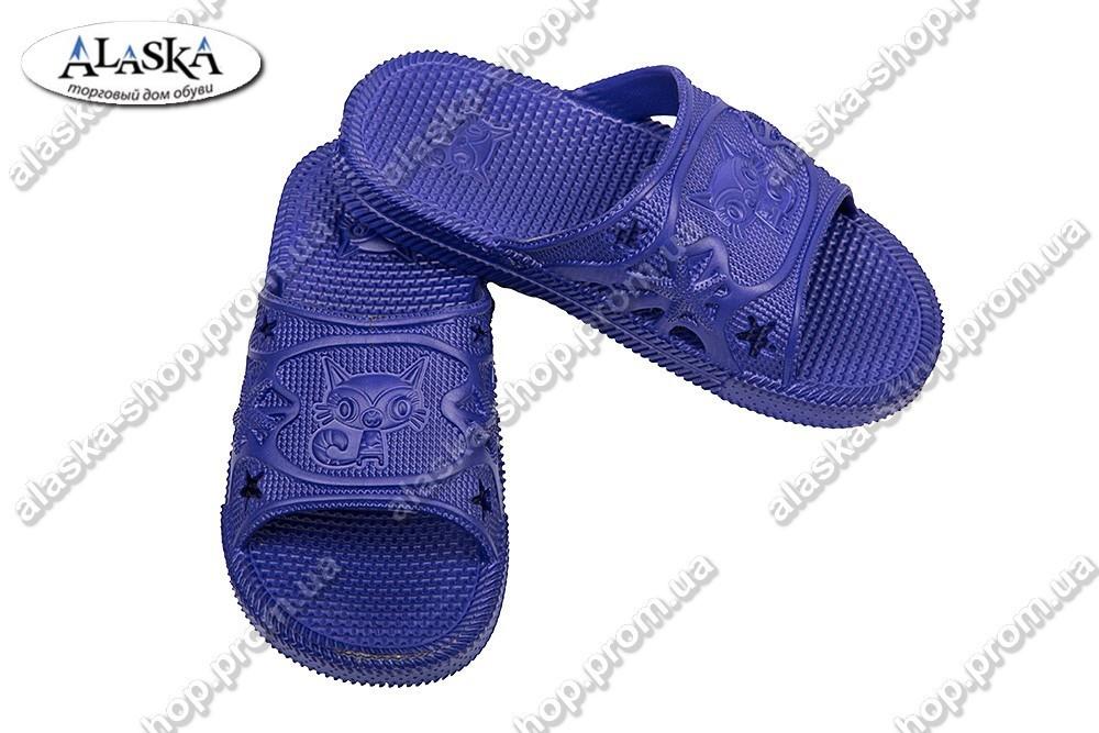 Подростковые шлепанцы фиолетовые (Код: ПД-02)