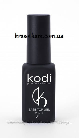 Основа и финиш для гель-лака Kodi Base Top gel 2 в 1 8ml