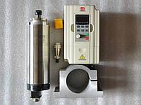 Шпиндель 0.8 кв 4А+инвертор для Чпу 7А (воздушное охл.)