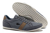 Мокасины Lacoste Seed Cassual Grey Brown