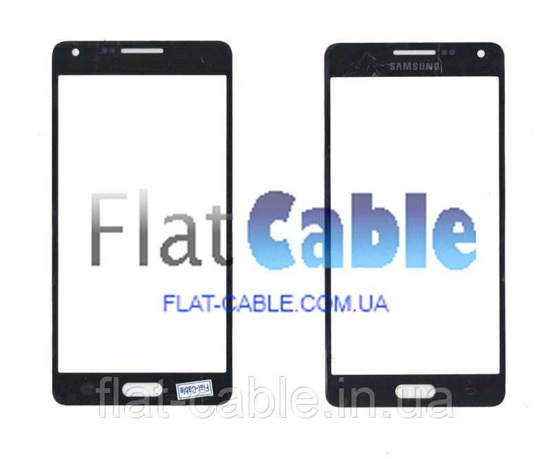 Скло Samsung A500H Black