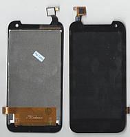 Дисплей + сенсор HTC Desire 310 черный (если белый дисплей шить на последнюю версию П.О)