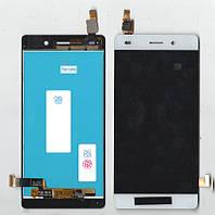 Дисплей + сенсор Huawei P8 Lite Белый ( ALE-L21)