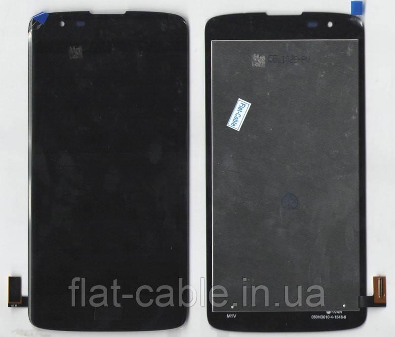 Дисплей + сенсор LG K350E K8 Indigo черный