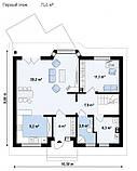 Загородный дом. Дом из Кирпича. Кирпичный дом в Днепре. Качественно строим. Инженерно-строительные услуги, фото 3