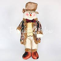 Новогодний сувенир «Снеговик», h-55 см.