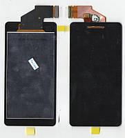Дисплей + сенсор Sony LT25i Xperia V, черный, с тачскрином