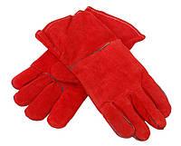 Краги для сварки, SAND PIPER RED,  х\б подкладке, красные, р.11