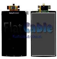 Дисплей + сенсор Sony Ericsson LT15i/LT18i/X12 Xperia Arc чёрный