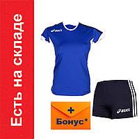 Форма волейбольная женская Asics Set Azzuro